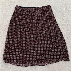 East 5th Fully Lined Elastic Waistband Skirt Sz 1X